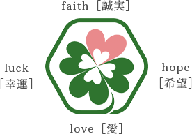 faith luck hope love